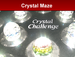 Crystal Collection inspired by The Crystal Maze