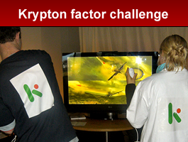 Krypton Factor Challenge team building