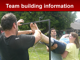 Team Building Information from DW Team Building